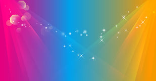 Abstract color ray background vector illustration