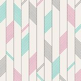 Abstract of color red green black stripes pattern background. Ea. Ch color has separated for adjusting. Illustration vector eps10 stock illustration