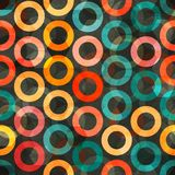 Abstract color rings seamless Stock Photos