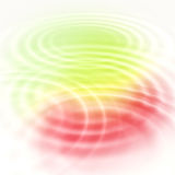 Abstract color ripples Royalty Free Stock Photography