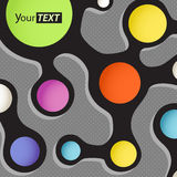 Abstract color scheme Stock Photography