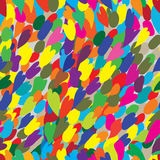Abstract color seamless graphic pattern, modern design Stock Photos
