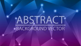 Abstract color shade background vector. Triangle shape vector logo royalty free stock photography
