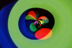 Abstract color shapes background Royalty Free Stock Image