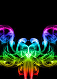 Abstract color smoke Royalty Free Stock Photos