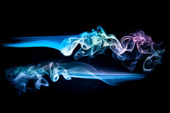 Abstract color smoke background Royalty Free Stock Images