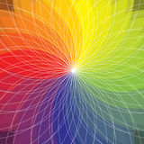 Abstract color spectrum background Royalty Free Stock Photo