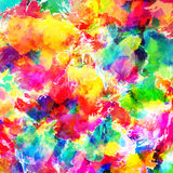 Abstract color splash background illustration Royalty Free Stock Photography