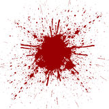Abstract color, splatter red color background. illustration vect Royalty Free Stock Photography