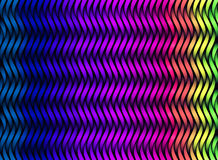 Abstract color stripes. 3D colorful texture. Different colors netting Royalty Free Stock Photos