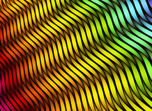Abstract color stripes. 3D colorful texture. Different colors netting Stock Photo