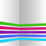 Abstract color stripes design Royalty Free Stock Images