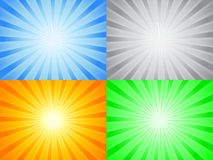 Abstract color sun Royalty Free Stock Photo