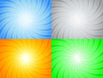 Abstract color sun 2 Stock Photo