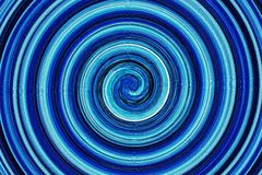 Abstract of color swirls Stock Photo