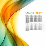 Abstract color template Royalty Free Stock Photography
