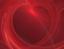 The abstract color texture. Red hearts Royalty Free Stock Photos