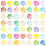 Abstract color tiles pattern Stock Image