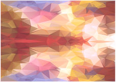 Abstract color triangles background Royalty Free Stock Image