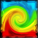 Abstract color twirl royalty free stock images