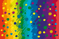 Abstract color twirl background Stock Photos