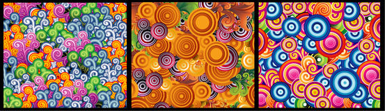 Abstract color vector background Royalty Free Stock Photos