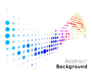 Abstract color vector background Royalty Free Stock Photo