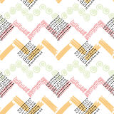 Abstract color vector  pattern Royalty Free Stock Image