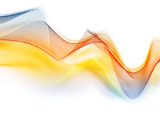 Abstract color wave Stock Image