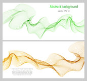Abstract color wave design element Stock Image