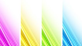 Abstract color waves. The illustration contains the image of Abstract color waves vector illustration