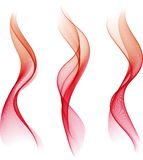 Abstract color waves. The illustration contains the image of Abstract color waves stock illustration