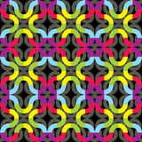 Abstract color weave Stock Photography