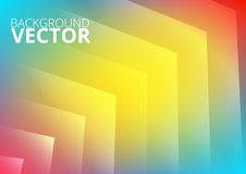 Abstract colored arrows background. For presentation Stock Images