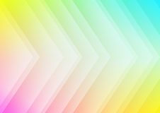 Abstract colored arrows background. For presentation Stock Photography