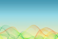Abstract Colored Background Stock Images