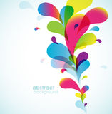 Abstract colored background. Stock Photography
