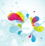 Abstract colored background. Stock Photos