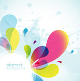 Abstract colored background. Royalty Free Stock Images
