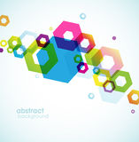 Abstract colored background Stock Photography