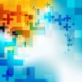 Abstract colored background. Royalty Free Stock Photo