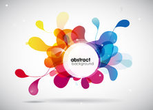 Abstract colored background Royalty Free Stock Images