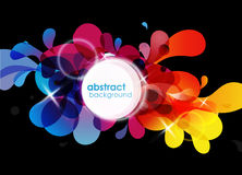 Abstract colored background. Royalty Free Stock Image