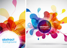 Abstract colored background. Royalty Free Stock Photography
