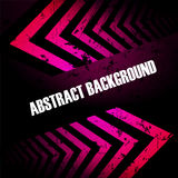 Abstract colored background with arrows Stock Photography