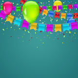 Abstract colored background Stock Image
