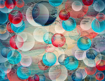 Abstract colored background with circles Royalty Free Stock Photography