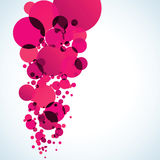 Abstract colored background with circles. EPS 8 Stock Photography