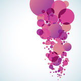 Abstract colored background with circles Royalty Free Stock Image
