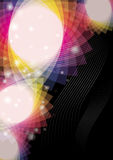 Abstract colored background. Design wallpaper stock illustration